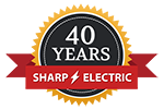 Sharp Electric 40th Anniversary